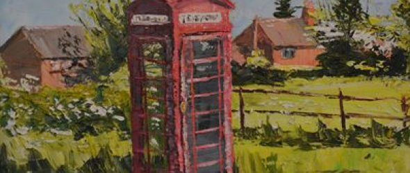 The little red phone box
